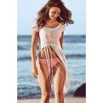 Плажна туника с ресни (P4541)