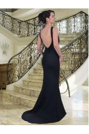 Разкошна дълга рокля с гол гръб (R9183-1)