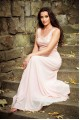 Нежна официална рокля с дантелена горна част в цвят праскова (RO99074)