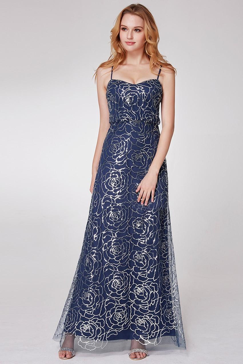 5e86122ea12 Изключителна дълга бална рокля с уникална дантела (R9857)